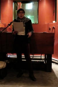 Rachel Burlock reads at Oddities, Means and Ends