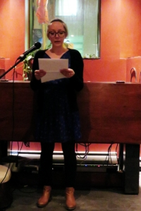 Jess Nicol reads at Oddities, Means and Ends