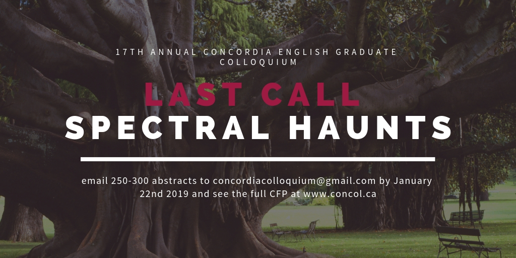 17th annual concordia english graduate colloquium